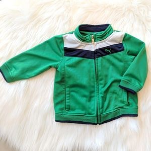 Puma Zip-Up Jacket for Baby 3-6 Months